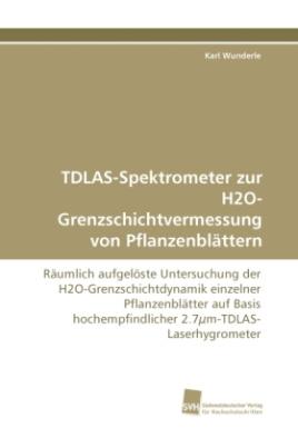 TDLAS-Spektrometer zur H2O-Grenzschichtvermessung von Pflanzenblättern