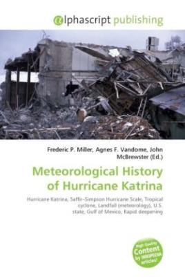 Meteorological History of Hurricane Katrina