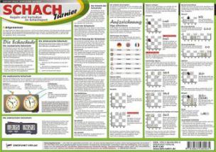 Schach - Turnier, Infotafel