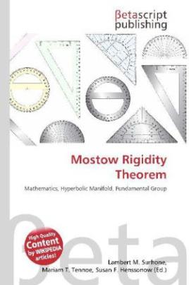 Mostow Rigidity Theorem
