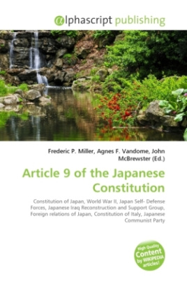 Article 9 of the Japanese Constitution