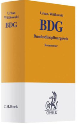 Bundesdisziplinargesetz (BDG), Kommentar