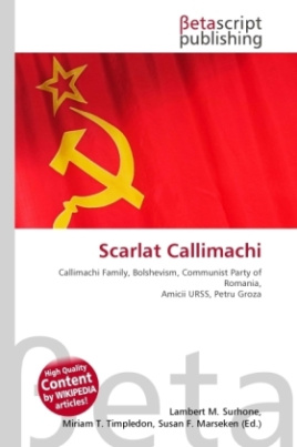 Scarlat Callimachi