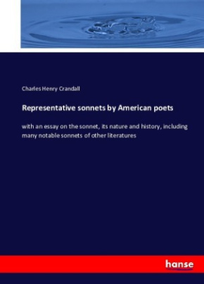 Representative sonnets by American poets