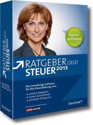 ARD Ratgeber Geld - Steuer 2013, DVD-ROM