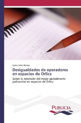 Desigualdades de operadores en espacios de Orlicz