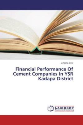 Financial Performance Of Cement Companies In YSR Kadapa District