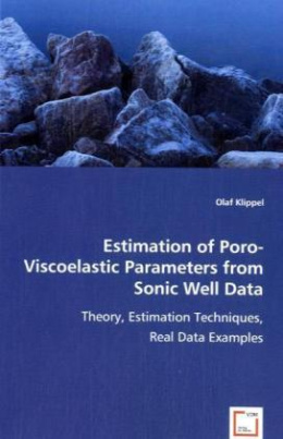 Estimation of Poro-Viscoelastic Parameters from Sonic Well Data