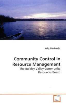 Community Control in Resource Management