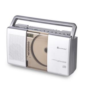 Radio mit vertikalen CD-Player
