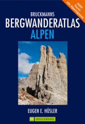 Bruckmanns Bergwanderatlas Alpen