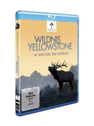 Wildnis Yellowstone - Im Wechsel der Extreme, 1 Blu-ray