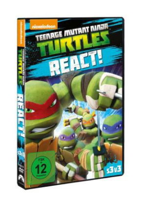 Teenage Mutant Ninja Turtles: React, 1 DVD. Staffel.3.3