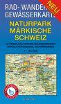 Rad-, Wander- und Gewässerkarte: Naturpark Märkische Schweiz