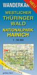 Wanderkarte: Westlicher Thüringer Wald - Nationalpark Hainich