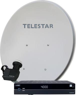 DVB-S-Satelliten-Komplettpaket