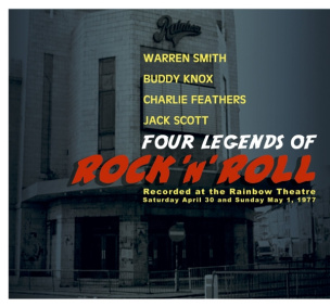 Four Legends of Rock 'n' Roll